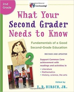What Second Grader Needs to Know