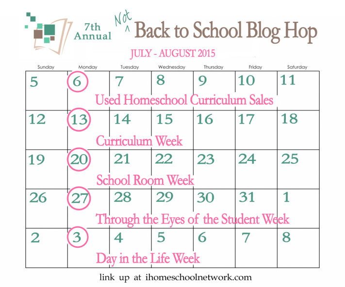 2015 Not Back to School Hop