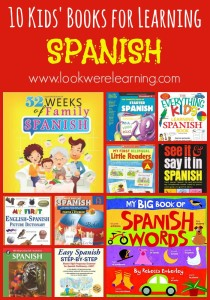 10 Spanish Books for Kids