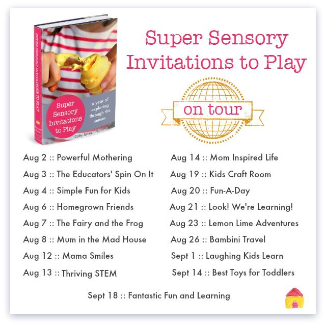 Super Sensory Invitations to Play Blog Tour