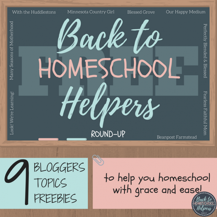 Back to Homeschool Helpers
