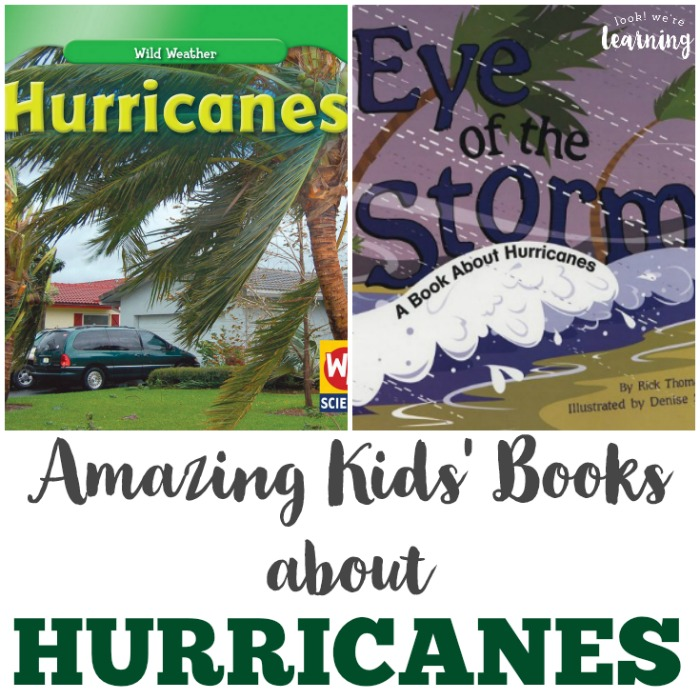 Amazing Hurricane Books for Kids to Read