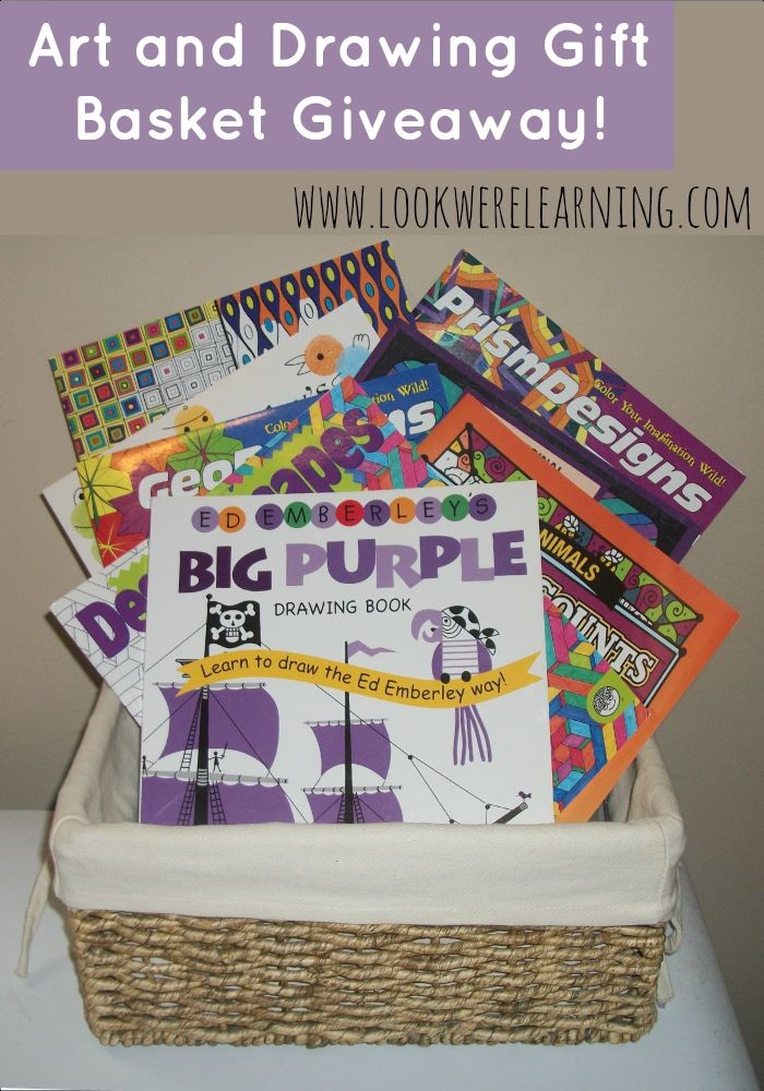 Back to Homeschool Art and Drawing Gift Basket Giveaway