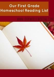 First Grade Reading List Homeschool Picks