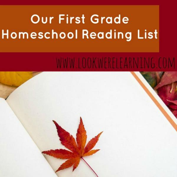Homeschool First Grade Reading List