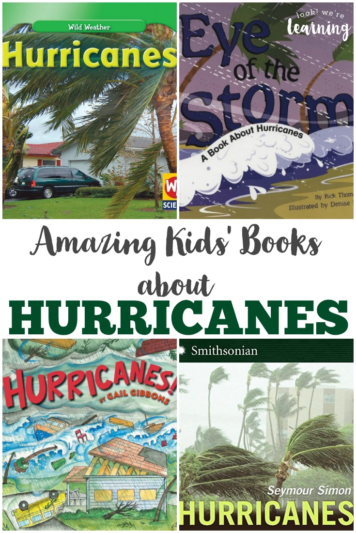 Learn about extreme summer weather with these amazing hurricane books for kids!