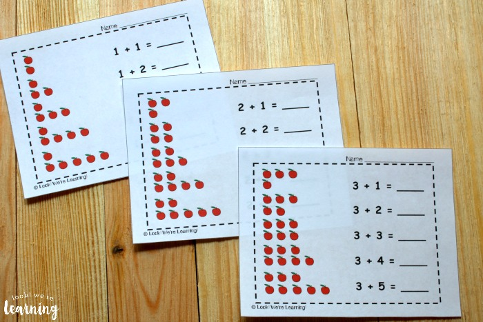 Printable Apple Arrays Printables for Kids