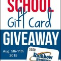 Rainbow Resource Gift Card Giveaway
