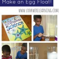 Simple Science Experiments: Make an Egg Float