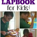 Teach kids how to cook with this fun, hands-on cooking lapbook!