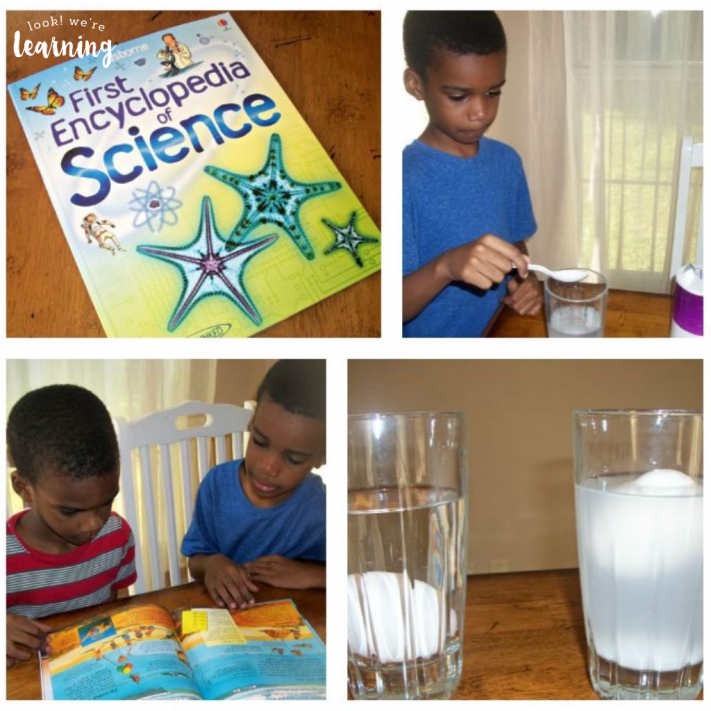 Easy Floating Egg Experiment - Look! We're Learning!