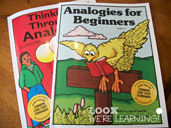 Teaching Analogies to Elementary Students - Look! We're Learning!