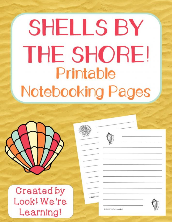 Beach Notebooking Pages
