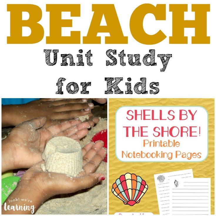 Beach Unit Study for Kids