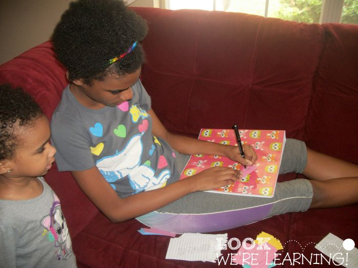 Fifth Grade Creative Writing: Brave Writer Review - Look! We're Learning!