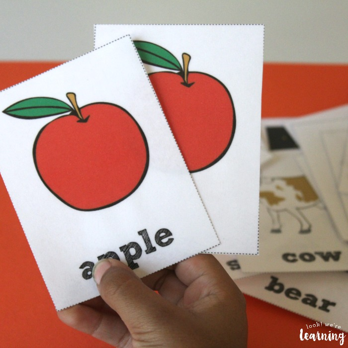 Fall Sight Word Flashcards for Kids