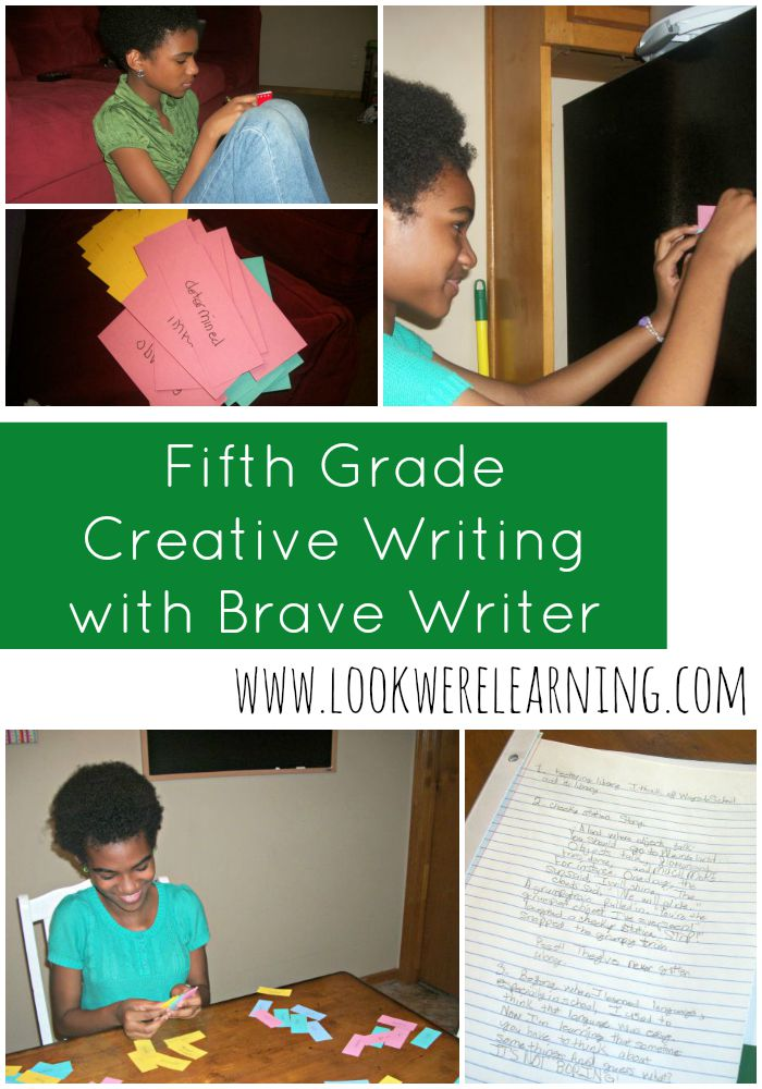 Fifth Grade Creative Writing - Brave Writer Review