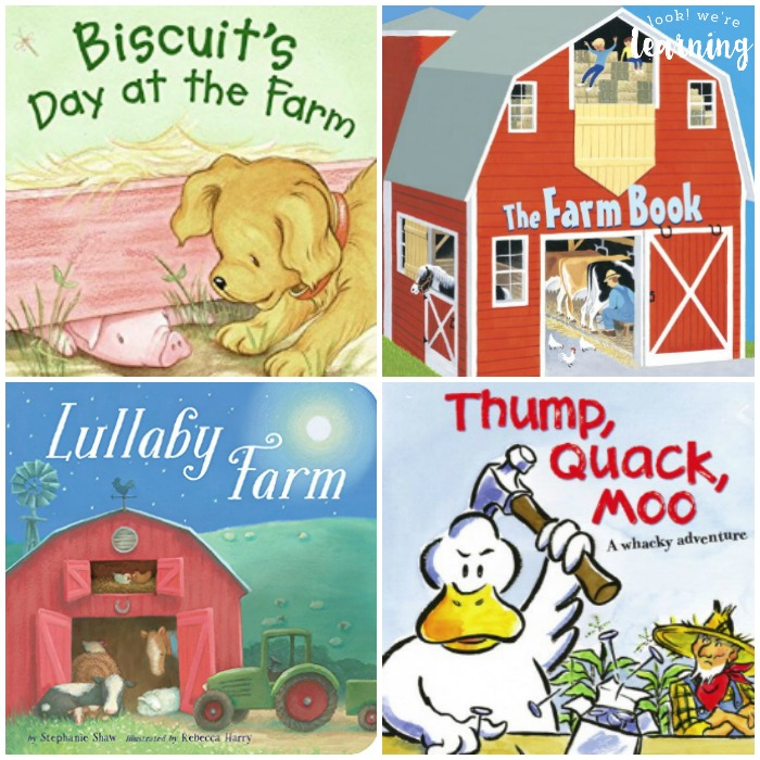 Fun Farm Books for Kids - Look! We're Learning!