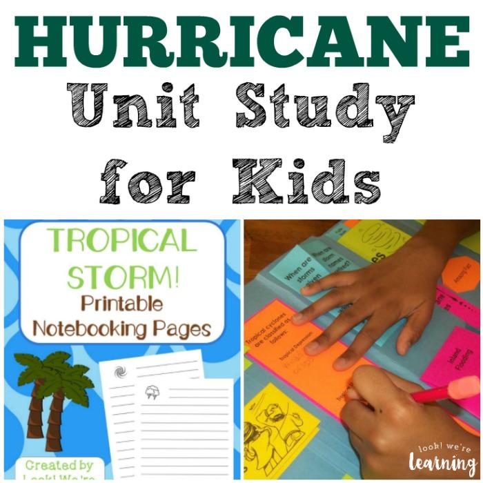 Hurricane Unit Study for Kids
