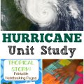 Learn about extreme weather in this hurricane unit study for kids!