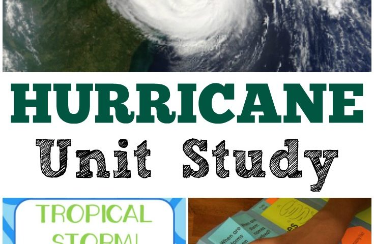 Homeschool Unit Studies: Hurricane Unit Study