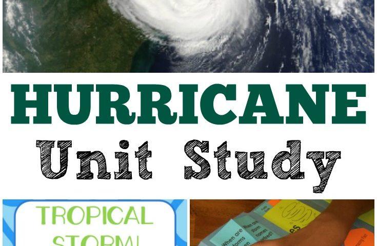 Homeschool Unit Studies: Hurricane Unit Study