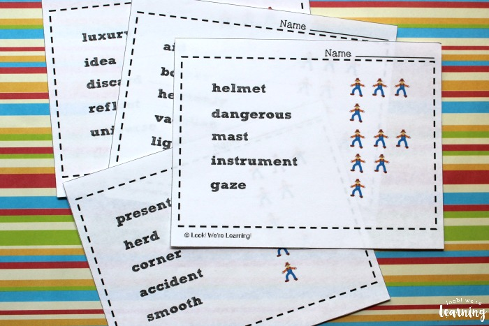 Scarecrow Syllables Printable Activity