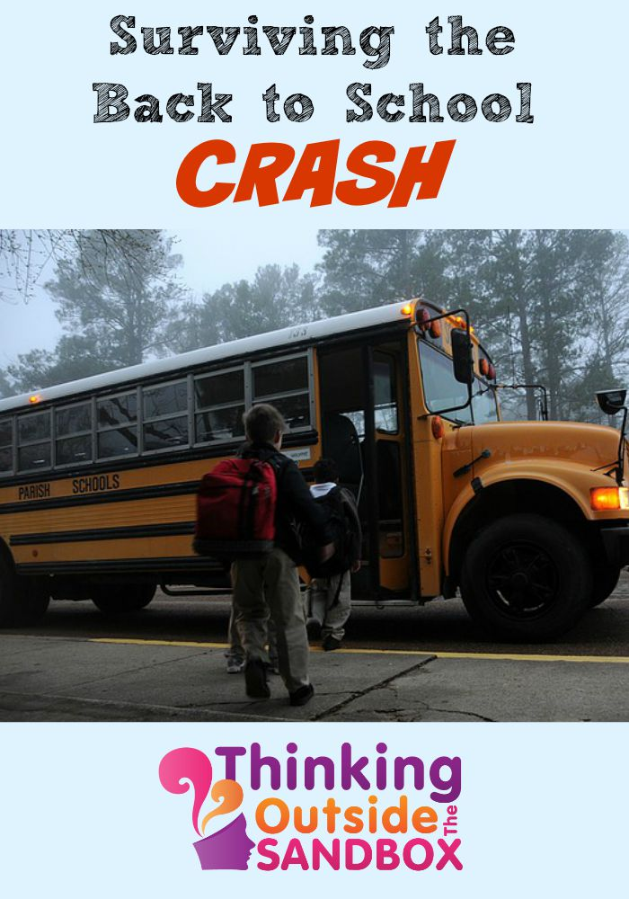 Surviving the Back to School Crash