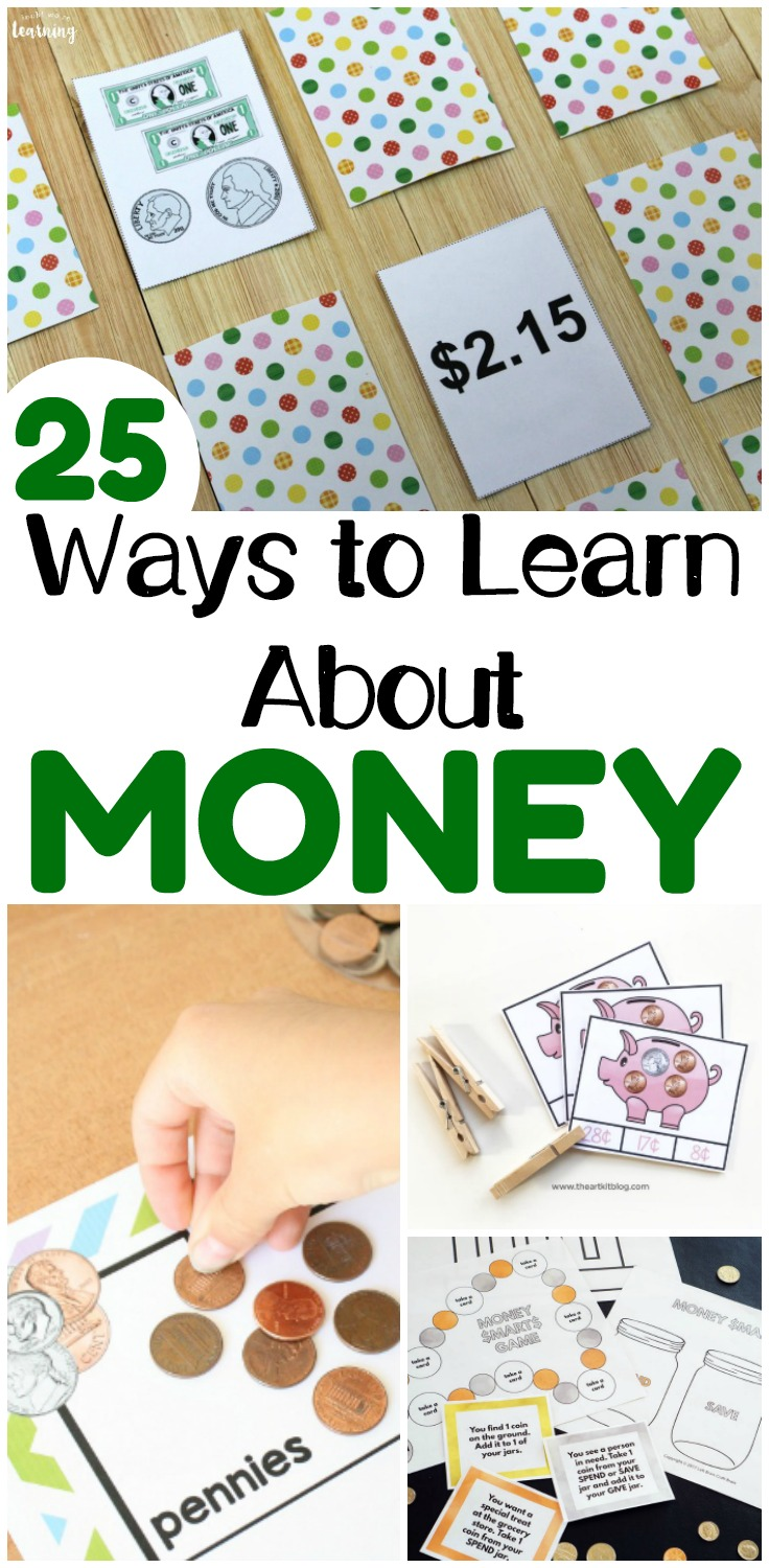 Teach your elementary student about money with these fun money activities for second grade!