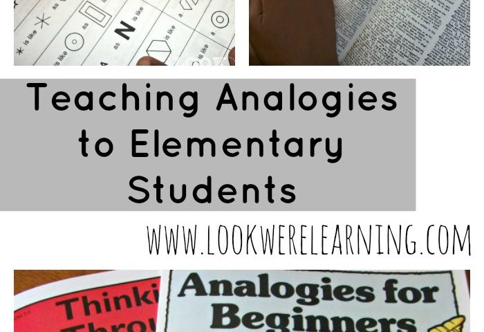 Teaching Analogies to Elementary Students