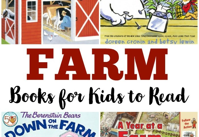 Fun Kids' Books about Farms