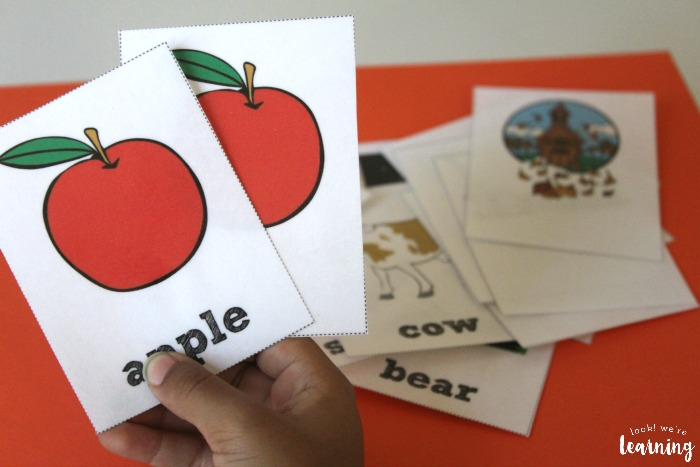 Using Fall Sight Word Flashcards for Reading Skills