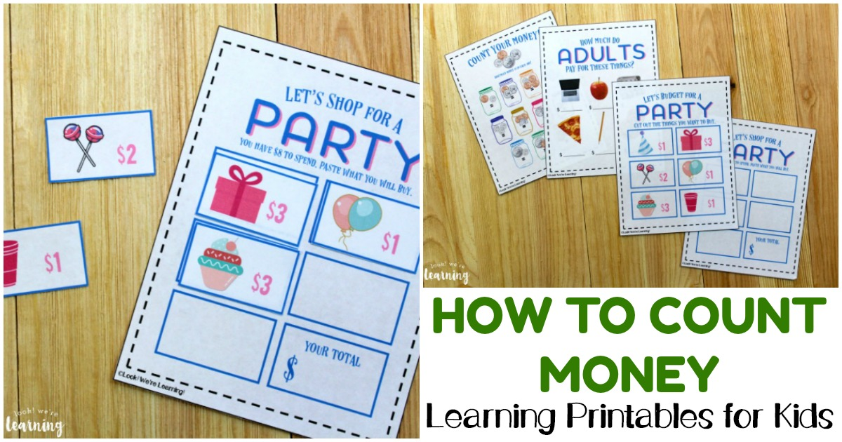 Work on learning to count coins and dollars with these fun money activities for second grade!