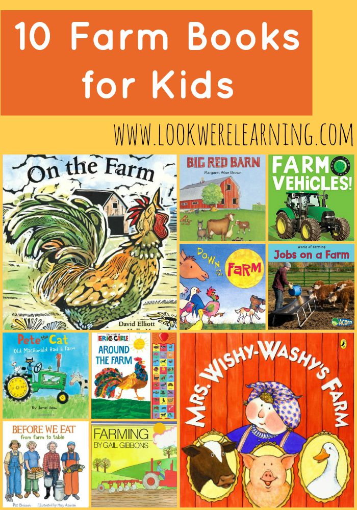 10 Kids Books about Farms