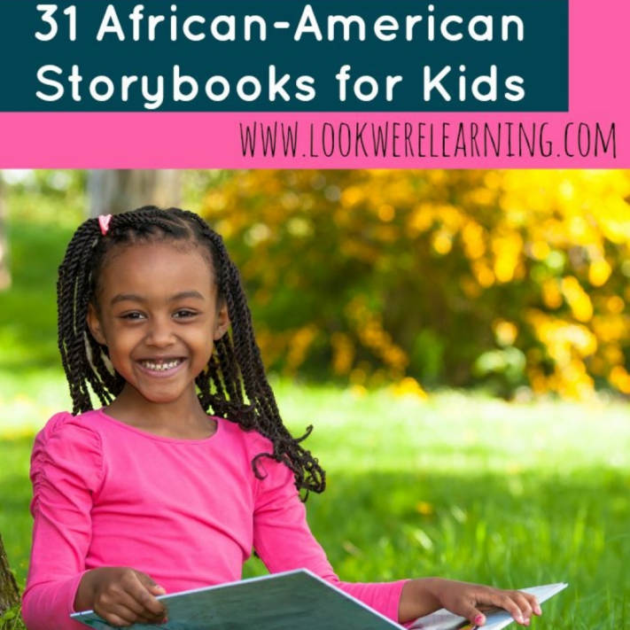 African American Storybooks for Kids - Look! We're Learning!