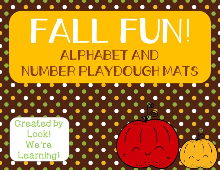 Fun Fall Playdough Mats