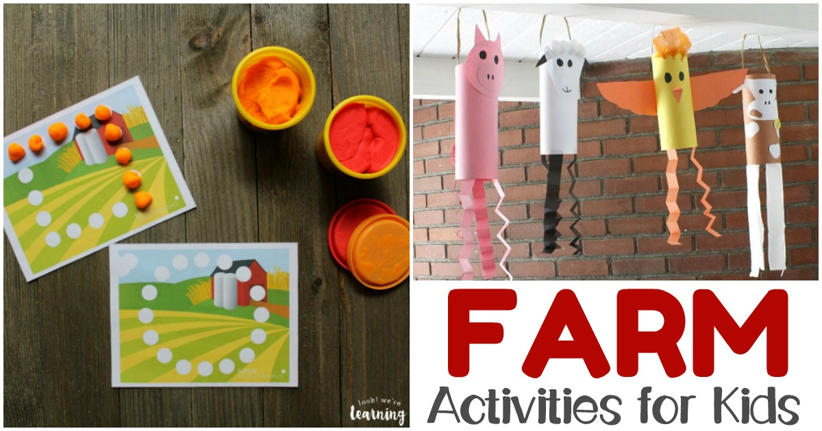 Fun Farm Crafts and Farm Activities for Kids