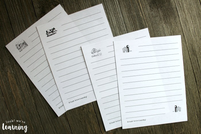 Printable Farm Notebooking Pages