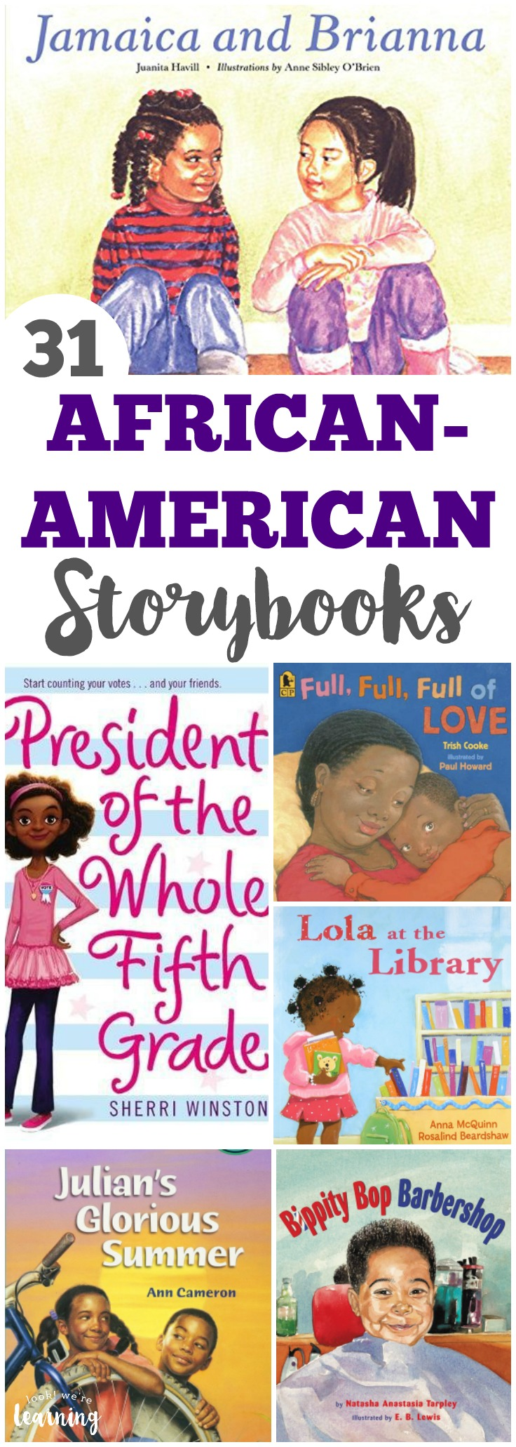 Read these wonderful African American story books for kids with your little ones!