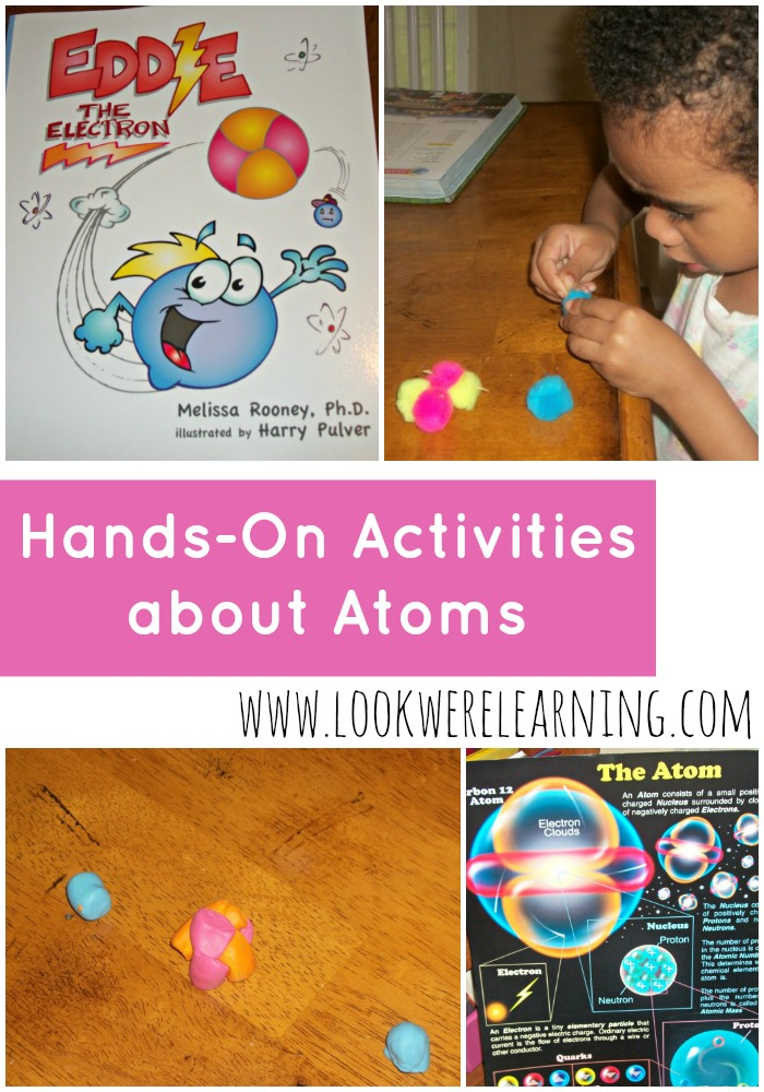 STEM Learning about Atoms Activities - Look! We're Learning!