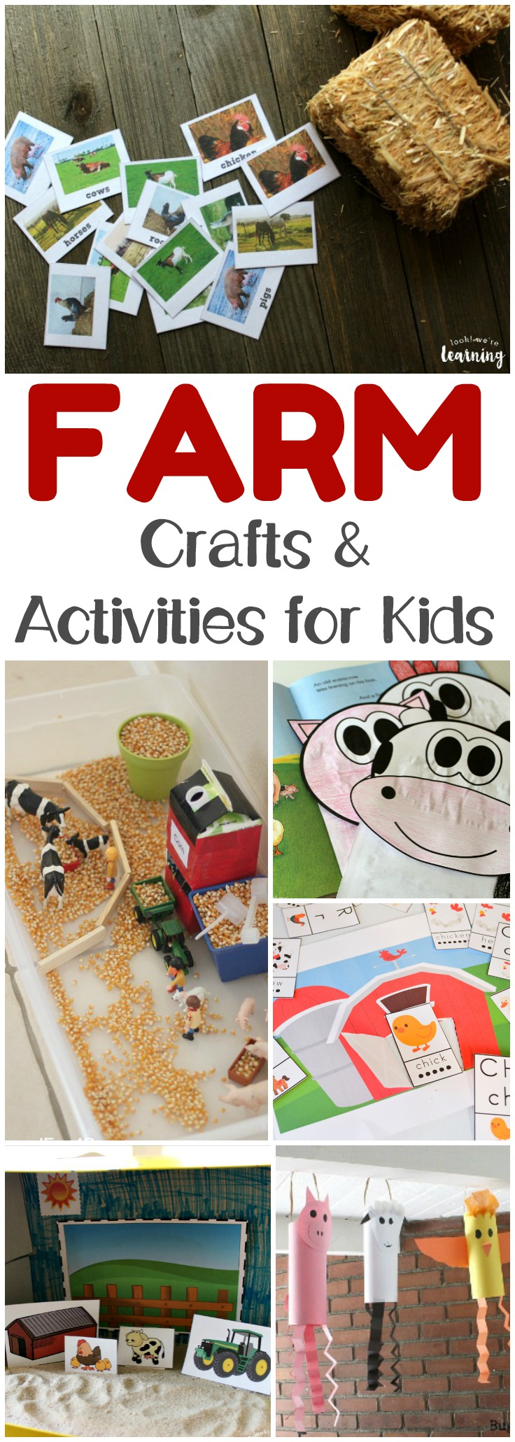 Share these fun farm activities for kids with your children this fall! There are plenty here to choose from for a fun fall unit!