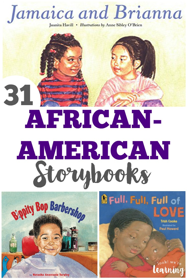 These beautiful African American story books for kids feature wonderful characters for children to explore!
