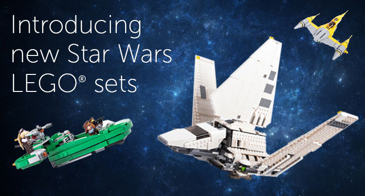 Rent Star Wars Lego Sets with Pley - Look! We're Learning!