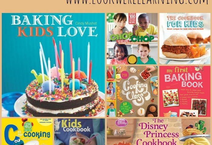 10 Fun Children's Cookbooks