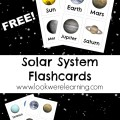 Free Printable Flashcards: Solar System - Look! We're Learning!