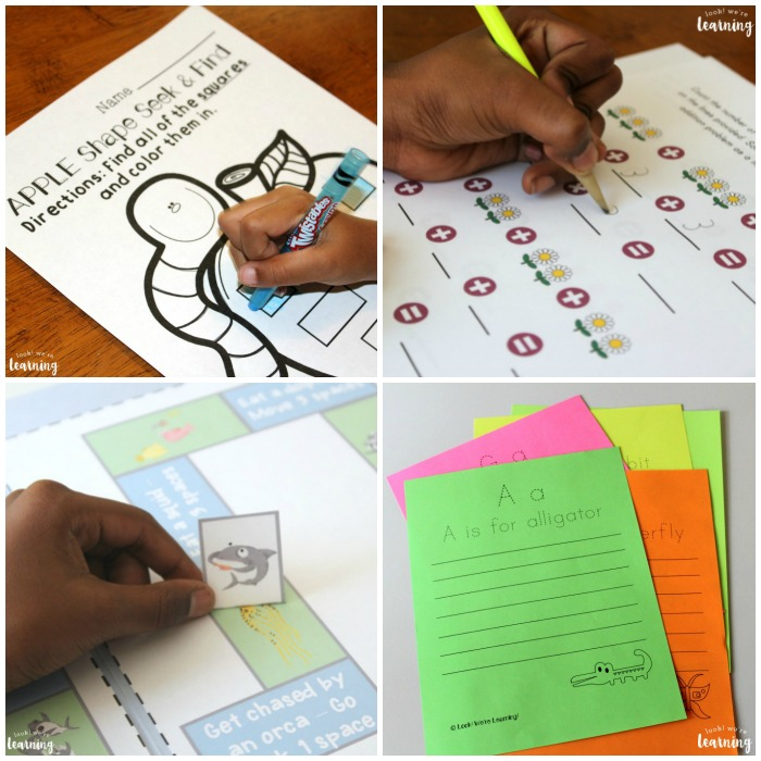 Homeschool Printables for Kids