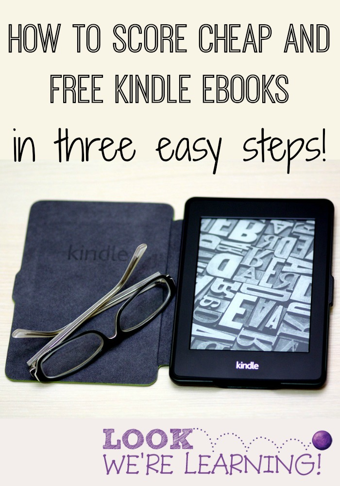 How to Score Cheap and Free Kindle eBooks