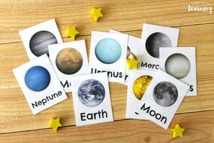 Printable Solar System Flashcards