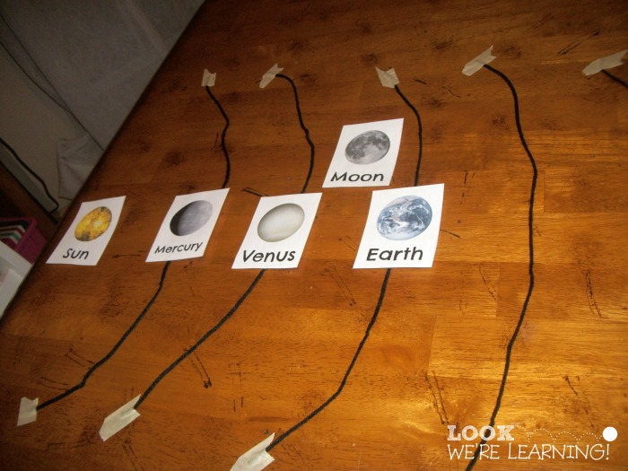 Printable Solar System Planet Flashcards - Look! We're Learning!