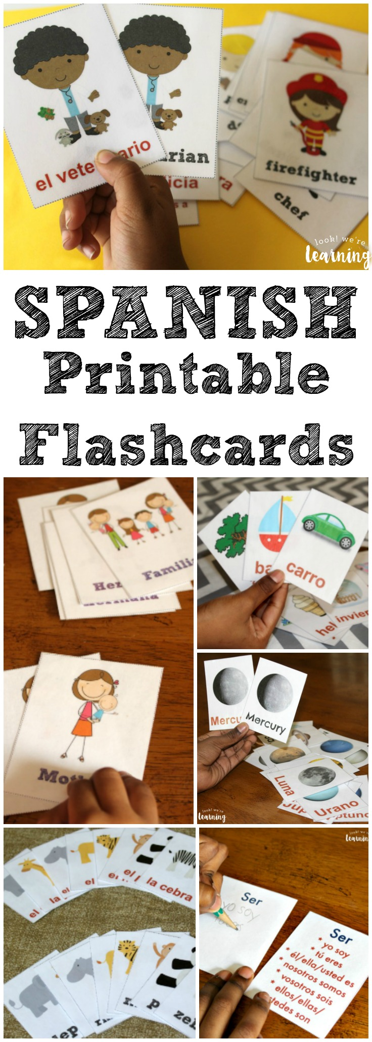 image relating to Spanish Flashcards Printable titled Printable Spanish Flashcards - Glimpse! Had been Finding out!